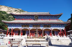 Висок буддизма Стоковое фото RF