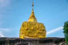Висок буддиста в Таиланде Провинция Sakonakorn стоковые изображения rf