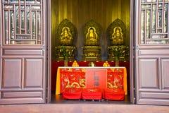 Висок Будды в Шанхае Китае Стоковые Фото