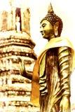 Висок Будды картины цифров тайский в Таиланде Стоковые Изображения RF