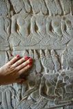 Висок ватта Angkor стоковые фотографии rf