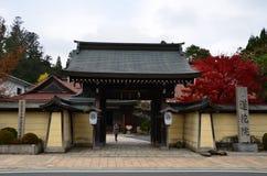 Висок временно проживая Shukubo Koyasan Японию Стоковые Изображения