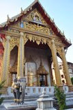 Висок в виске nari Бангкока Таиланда Wat Samien красивом Стоковые Изображения RF