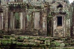 Висок в камбоджийских джунглях Стоковые Фото