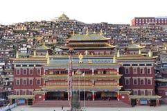 Висок в коллеже будизма в стране seda Стоковое Фото
