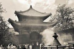 Висок в Пекине, Китай лама Стоковые Фото