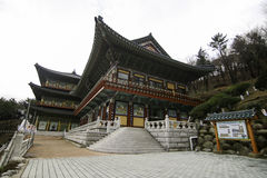 Висок в Пусане Корее Стоковая Фотография RF