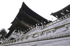 Висок в Пусане Корее Стоковое фото RF