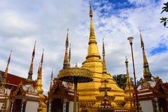 Висок в северном городе Таиланда Стоковые Фото