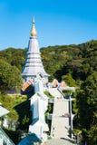 Висок в Чиангмае, Таиланде Стоковое Изображение RF