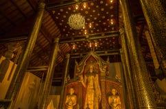 Висок в Чиангмае Thailand стоковое фото