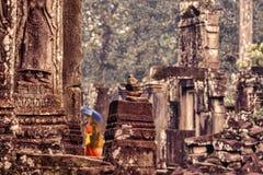 Висок в Angkor Wat Стоковые Фото