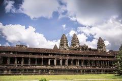Висок в Angkor Wat Стоковые Фотографии RF