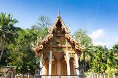 Висок в Chiang Dao, Таиланде стоковые изображения rf