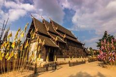 Висок в Chiang Mai, Таиланде стоковое изображение