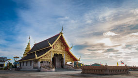 Висок в Chiang Rai Таиланде стоковая фотография rf
