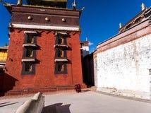 Висок в Rikaze, Тибете, виске Zhashilunbu стоковые фото