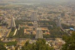 Висок в Tiruvanumalai, Tamilnadu, Индии Стоковые Фотографии RF