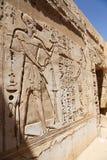 Висок города Habu - Египет стоковые фото