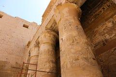 Висок города Habu на Луксоре стоковая фотография rf