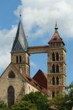 Висок города Esslingen am Неккара Стоковое Изображение RF