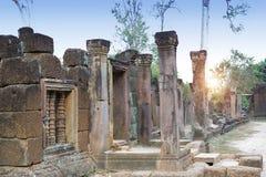 Висок губит столетие th XII, Siem Reap, Камбоджу стоковые фото