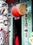висок двери Стоковая Фотография