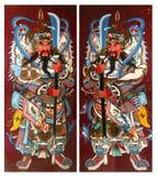 висок двери c003 тайский Стоковое Изображение
