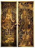 висок двери c005 тайский Стоковая Фотография RF