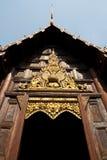 висок деревянный Стоковое Изображение
