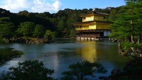 Висок Дзэн Японии золотой Стоковое фото RF