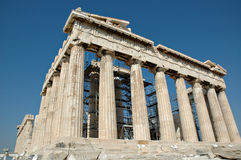 висок древнегреческия стоковое фото rf