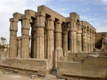 висок Египета luxor Стоковое Изображение