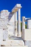 Висок деметры, остров Naxos, Киклады, эгейские, Греция Стоковая Фотография