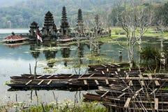 Висок затопленный балийцем Стоковое Изображение