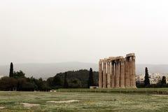 Висок Зевса стоковая фотография rf