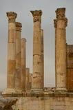 Висок Зевса, Jerash Стоковое Изображение RF