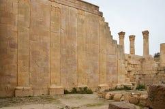 Висок Зевса, Jerash Стоковое фото RF