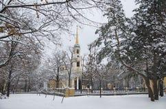 Висок зимы Стоковые Изображения