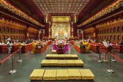 Висок зуба Будды Стоковые Фотографии RF