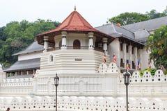 Висок зуба и королевского дворца - Канди, Шри-Ланки стоковые изображения