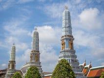 Висок изумруда, Бангкока, Таиланда Стоковая Фотография RF