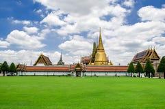 висок изумруда Будды Стоковое Фото