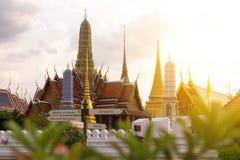 висок изумруда Будды Стоковые Изображения RF