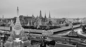 висок изумруда Будды Стоковые Фото