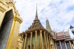 Висок изумрудного Будды в Бангкоке, Таиланде Стоковые Изображения