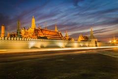 Висок изумрудного Будды Стоковые Фото