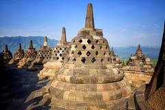 висок Индонесии java borobudur Стоковое Фото