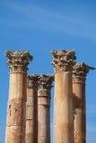 висок Иордана jerash artemis Стоковая Фотография RF