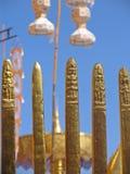висок искусства буддийский Стоковое фото RF